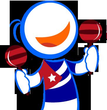 Mascota Internet a Cuba